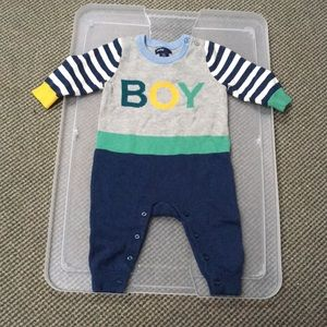 Baby Gap BOY footless bodysuit